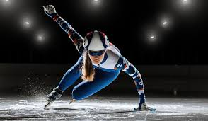 Female Speed Skater